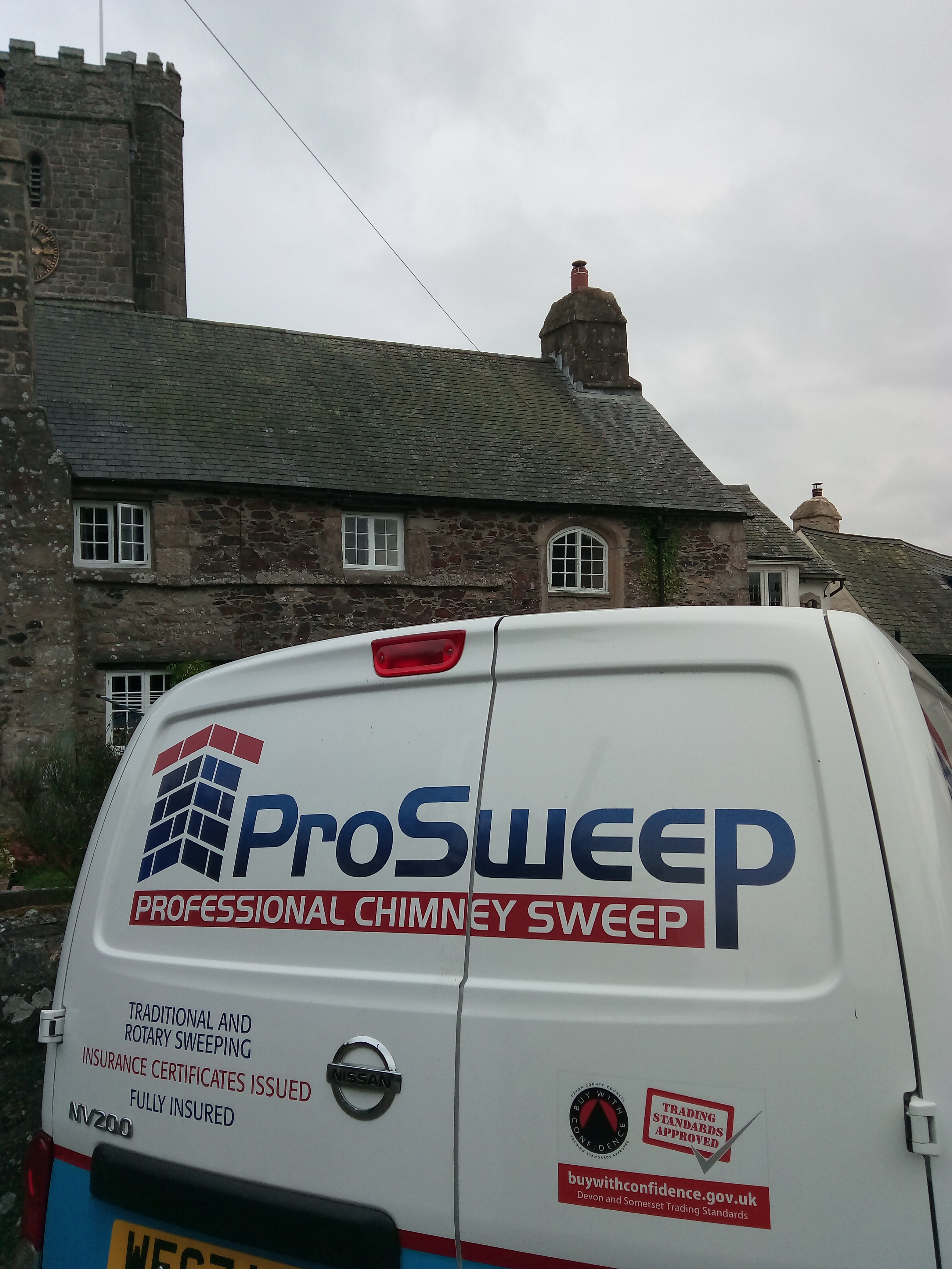 ProSweep Your reliable chimney sweep in ashburton