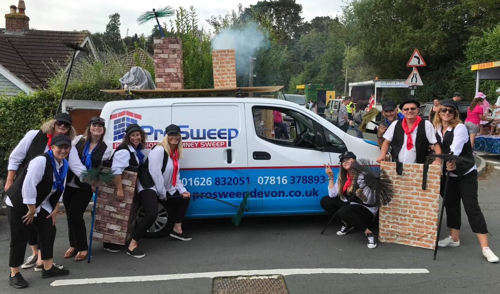 Bovey Tracey Chimney SWeep Carnival