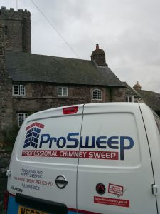 Chimney sweep Bovey Tracey