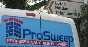Chimney sweep Chudleigh