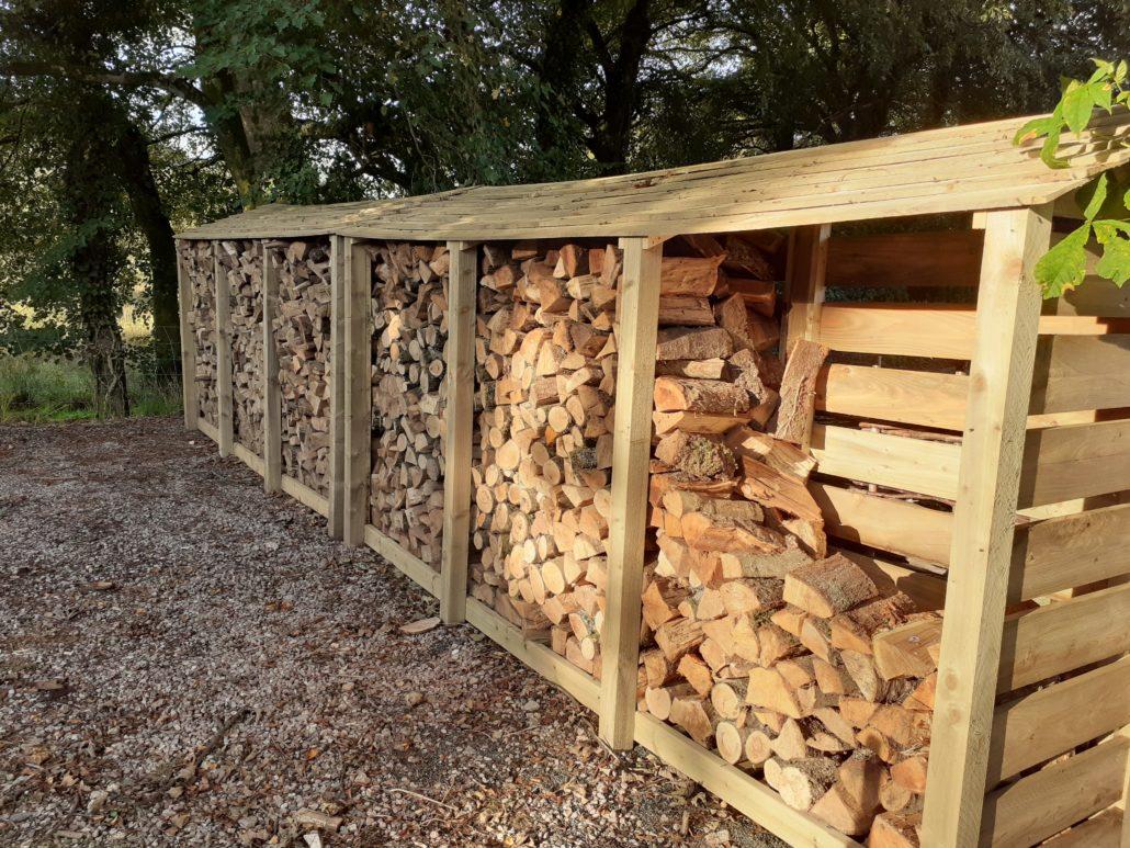 Dry Logs are Vital for Wood Burners efficiency