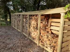 Wet Firewood Drying before use